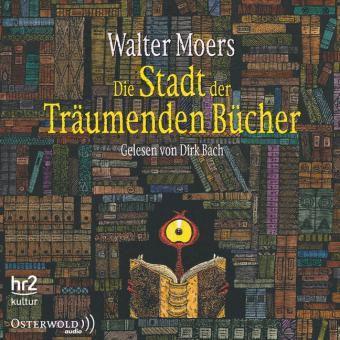 Die Stadt der Träumenden Bücher, 14 Audio-CDs, Walter Moers