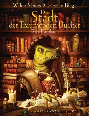 Die Stadt der Träumenden Bücher (Comic), Walter Moers
