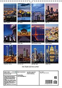 Die Stadt und ihre Lichter (Wandkalender 2019 DIN A3 hoch) - Produktdetailbild 13
