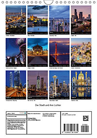Die Stadt und ihre Lichter (Wandkalender 2019 DIN A4 hoch) - Produktdetailbild 13