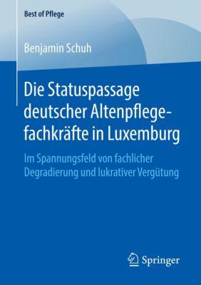 Die Statuspassage deutscher Altenpflegefachkräfte in Luxemburg - Benjamin Schuh |