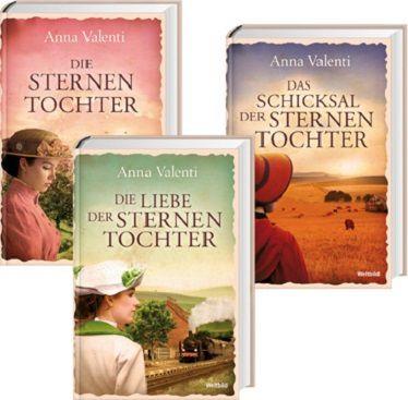 Die Sternentochter-Saga  1-3, Anna Valenti