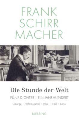 Die Stunde der Welt, Frank Schirrmacher