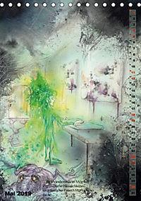 """""""Die Suche nach dem Narrenschlüssel"""" - Illustrationen einer Phantastischen Reise (Tischkalender 2019 DIN A5 hoch) - Produktdetailbild 1"""