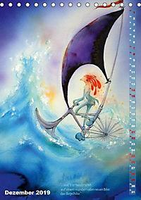 """""""Die Suche nach dem Narrenschlüssel"""" - Illustrationen einer Phantastischen Reise (Tischkalender 2019 DIN A5 hoch) - Produktdetailbild 3"""