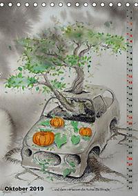 """""""Die Suche nach dem Narrenschlüssel"""" - Illustrationen einer Phantastischen Reise (Tischkalender 2019 DIN A5 hoch) - Produktdetailbild 6"""