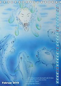 """""""Die Suche nach dem Narrenschlüssel"""" - Illustrationen einer Phantastischen Reise (Tischkalender 2019 DIN A5 hoch) - Produktdetailbild 9"""