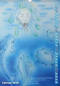"""""""Die Suche nach dem Narrenschlüssel"""" - Illustrationen einer Phantastischen Reise (Wandkalender 2019 DIN A3 hoch) - Produktdetailbild 2"""