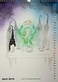 """""""Die Suche nach dem Narrenschlüssel"""" - Illustrationen einer Phantastischen Reise (Wandkalender 2019 DIN A3 hoch) - Produktdetailbild 4"""