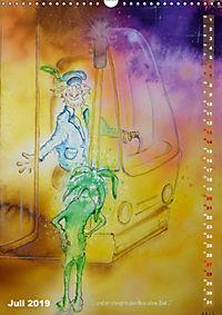 """""""Die Suche nach dem Narrenschlüssel"""" - Illustrationen einer Phantastischen Reise (Wandkalender 2019 DIN A3 hoch) - Produktdetailbild 7"""