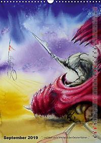 """""""Die Suche nach dem Narrenschlüssel"""" - Illustrationen einer Phantastischen Reise (Wandkalender 2019 DIN A3 hoch) - Produktdetailbild 9"""
