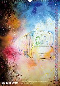 """""""Die Suche nach dem Narrenschlüssel"""" - Illustrationen einer Phantastischen Reise (Wandkalender 2019 DIN A3 hoch) - Produktdetailbild 8"""