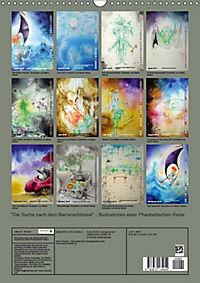 """""""Die Suche nach dem Narrenschlüssel"""" - Illustrationen einer Phantastischen Reise (Wandkalender 2019 DIN A3 hoch) - Produktdetailbild 13"""