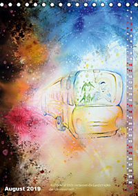 """""""Die Suche nach dem Narrenschlüssel"""" - Illustrationen einer Phantastischen Reise (Tischkalender 2019 DIN A5 hoch) - Produktdetailbild 8"""
