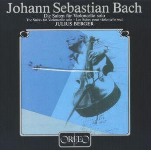 Die Suiten F.Violoncello Solo Bwv 1007-1012, Julius Berger