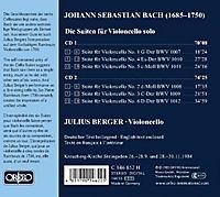 Die Suiten F.Violoncello Solo Bwv 1007-1012 - Produktdetailbild 1