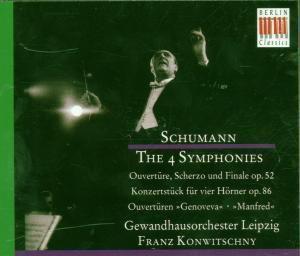 Die Symphonien/Ouvertüren (Ga), Franz Konwitschny, Gewandhausorchester Leipzig