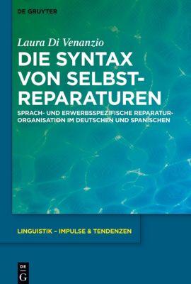 Die Syntax von Selbstreparaturen, Laura Di Venanzio