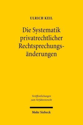 Die Systematik privatrechtlicher Rechtsprechungsänderungen, Ulrich Keil