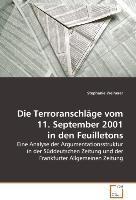Die Terroranschläge vom 11. September 2001 in den Feuilletons, Stephanie Weiherer