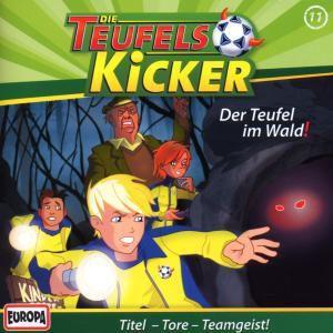 Die Teufelskicker - Der Teufel im Wald, 1 Audio-CD, Frauke Nahrgang