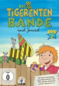 Die Tigerentenbande - DVD 02, Folge 7 - 13, Diverse Interpreten