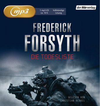 Die Todesliste, 1 MP3-CD, Frederick Forsyth