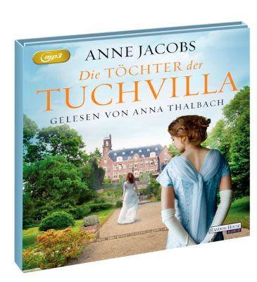 Die Töchter der Tuchvilla, 2 MP3-CDs, Anne Jacobs