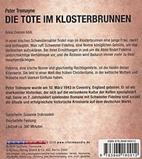 Die Tote im Klosterbrunnen, 1 MP3-CD - Produktdetailbild 1