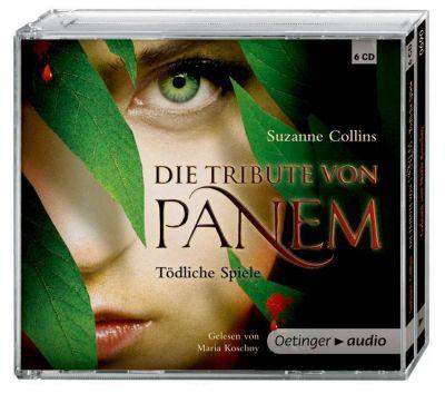 Die Tribute von Panem Band 1: Tödliche Spiele (6 Audio-CDs), Suzanne Collins