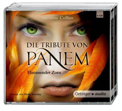 Die Tribute von Panem Band 3: Flammender Zorn (6 Audio-CDs), Suzanne Collins