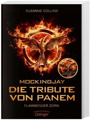 Die Tribute von Panem. Flammender Zorn, Filmausgabe, Suzanne Collins