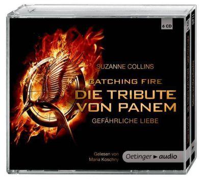 Die tribute von panem gef hrliche liebe 6 audio cds for Die tribute von panem film