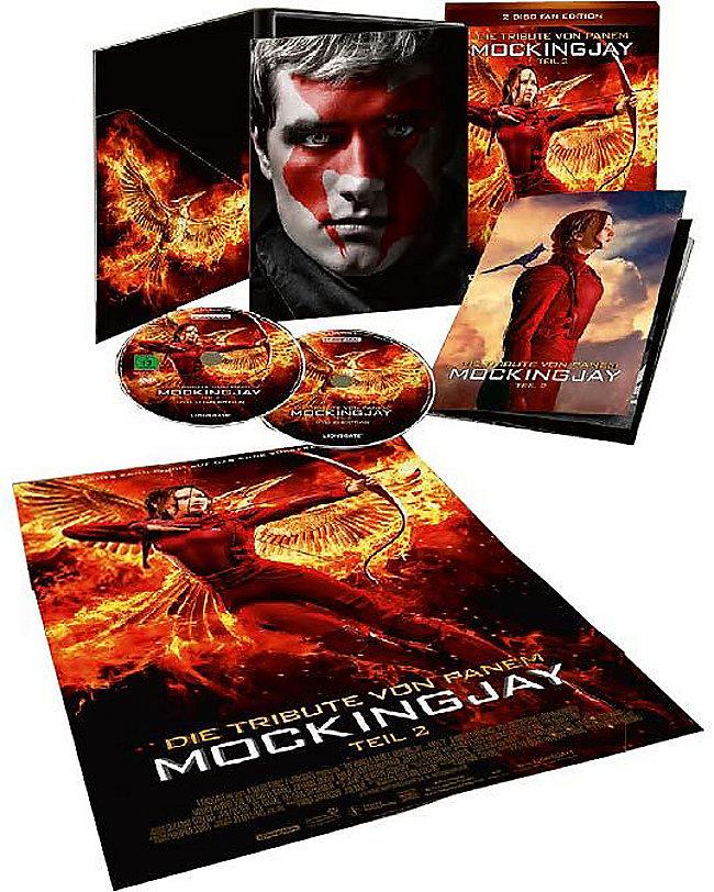 Teil 2: Die Tribute Von Panem: Mockingjay, Teil 2 DVD