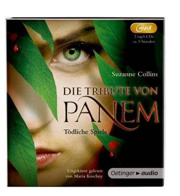 Die Tribute von Panem - Tödliche Spiele, 2 MP3-CDs, Suzanne Collins