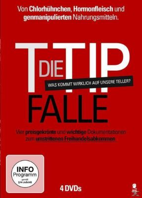 Die TTIP-Falle: Food, Inc, Food Fight, Der genfood-Wahnsinn, Du bist, was du isst! DVD-Box