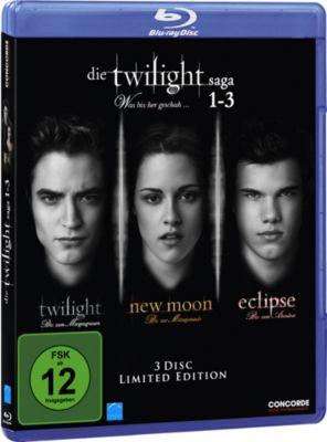 Die Twilight Saga 1-3, Stephenie Meyer
