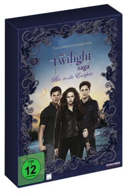 Die Twilight Saga - The Complete Collection, Kristen Stewart, Robert Pattinson