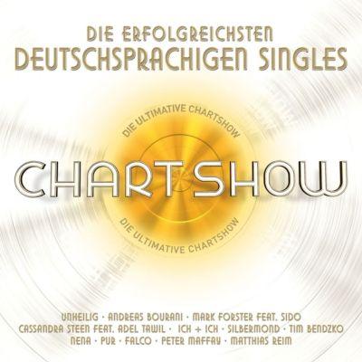 Die ultimative Chartshow - Die erfolgreichsten deutschen Singles (3 CDs), Various