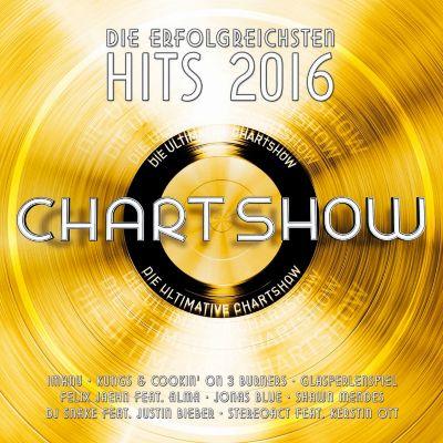 Die ultimative Chartshow - Die erfolgreichsten Hits 2016, Diverse Interpreten