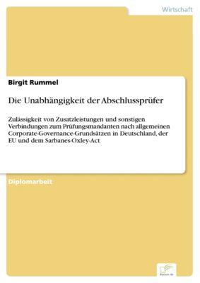 Die Unabhängigkeit der Abschlussprüfer, Birgit Rummel
