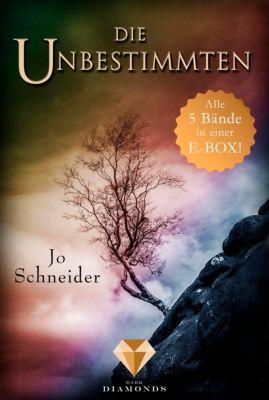 Die Unbestimmten: Alle 5 Bände der Bestseller-Fantasy-Reihe »Die Unbestimmten« in einer E-Box! (Die Unbestimmten ), Jo Schneider