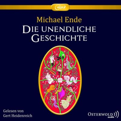 Die unendliche Geschichte, 2 MP3-CDs, Michael Ende