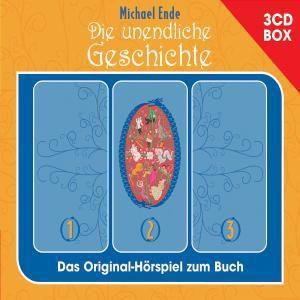 Die unendliche Geschichte, Hörspielbox, 3 Audio-CDs, Michael Ende