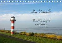 Die Unterelbe (Tischkalender 2019 DIN A5 quer), Kirstin Magdanz