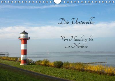 Die Unterelbe (Wandkalender 2019 DIN A4 quer), Kirstin Magdanz