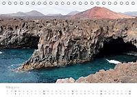 Die unwirkliche Welt von Lanzarote (Tischkalender 2019 DIN A5 quer) - Produktdetailbild 3