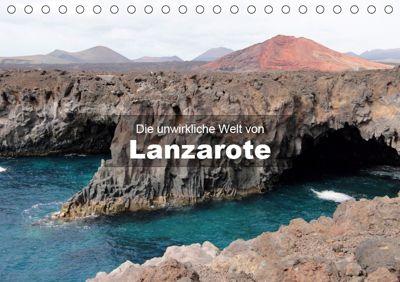 Die unwirkliche Welt von Lanzarote (Tischkalender 2019 DIN A5 quer), Andreas Janzen