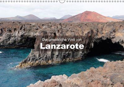 Die unwirkliche Welt von Lanzarote (Wandkalender 2018 DIN A3 quer) Dieser erfolgreiche Kalender wurde dieses Jahr mit gl, Andreas Janzen