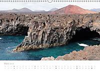 Die unwirkliche Welt von Lanzarote (Wandkalender 2018 DIN A3 quer) Dieser erfolgreiche Kalender wurde dieses Jahr mit gl - Produktdetailbild 3